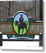 Polo Field Metal Print