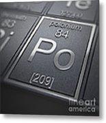 Polonium Chemical Element Metal Print