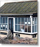 Polpeor Cafe The Lizard Point Metal Print