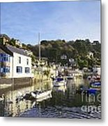 Polperro Cornwall England Metal Print by Colin and Linda McKie