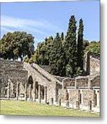 Pompeii 2 Metal Print