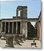 Pompeii 8 Metal Print