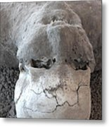 Pompeii Ash Skeleton Metal Print by Gregory Dyer