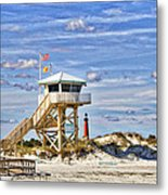 Ponce Inlet Scenic Metal Print