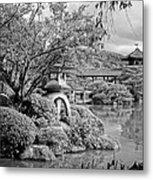 Pond At Heian Shrine - Kyoto Metal Print