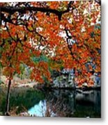 Fall At Lost Maples State Natural Area Metal Print