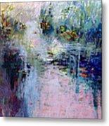 Pond Grasses Metal Print