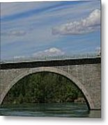 Pont La Javie  South France Metal Print