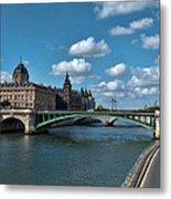 Pont Notre Dame Metal Print