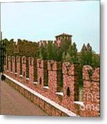Pont Scaligero Metal Print