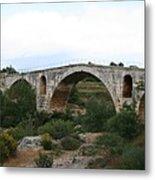 Pont St. Julien And Calavon River  Metal Print
