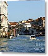 Ponte Dell Accademia Metal Print