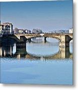Ponte Santa Trinita Florence Italy Metal Print