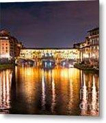 Ponte Vecchio - Florence Metal Print