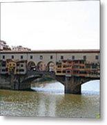 Ponte Vecchio I Metal Print