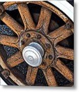 Pontiac Custom Sedan Metal Print