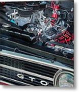 Pontiac G T O Metal Print