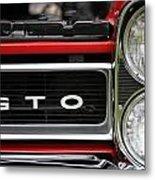 Pontiac Gto Front Metal Print