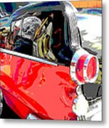 Pontiac Reflections Metal Print