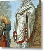 Pontifex Maximus, Illustration Metal Print