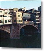 Ponto Vecchio Florence Palette Metal Print