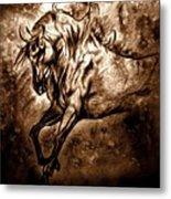 Pony Express Metal Print