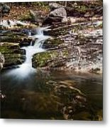Pooling River Metal Print