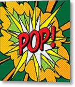 Pop Art 4 Metal Print