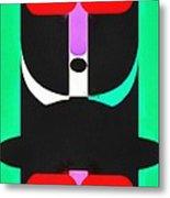 Pop Art People Totem 4 Metal Print