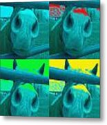 Pop Art Pony Metal Print