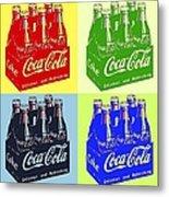 Pop Coke Metal Print