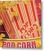 Pop Corn Metal Print
