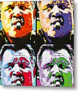 Pop Ditka Metal Print