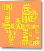Pop Love 3 Metal Print
