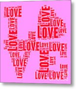 Pop Love 4 Metal Print