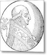Pope Gregory II (d Metal Print
