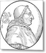 Pope Innocent Viii (1432-1492) Metal Print