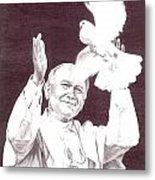St. John Paul II Metal Print