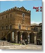 Popes Palace Metal Print