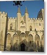 Popes Palace In Avignon Metal Print
