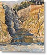 Poplar Cove Metal Print