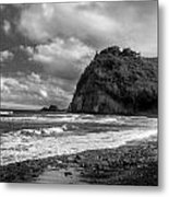 Popolu Beach Hawaii 4 Metal Print