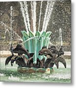 Popp Fountain In City Park New Orleans Metal Print
