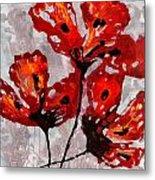 Poppies 47 Metal Print