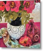 Poppies And Spices Metal Print