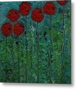 Poppies I Metal Print
