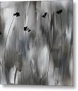 Poppies Upheaval Metal Print