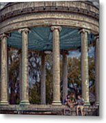 Popps Bandstand In City Park Nola Metal Print