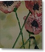 Poppy Breeze A Metal Print