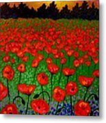 Poppy Carpet  Metal Print